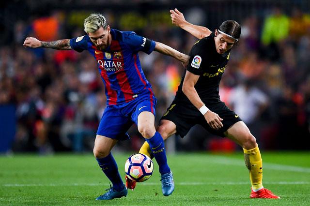 Barcelona's Messi