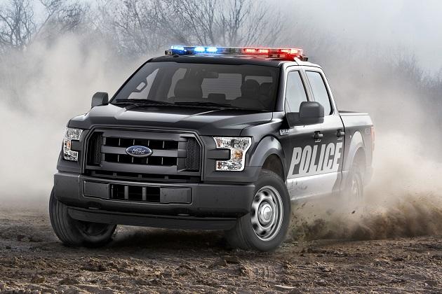 フォード、新型「F-150」に警察のニーズに合わせた「スペシャル・サービス・ビークル」パッケージを設定