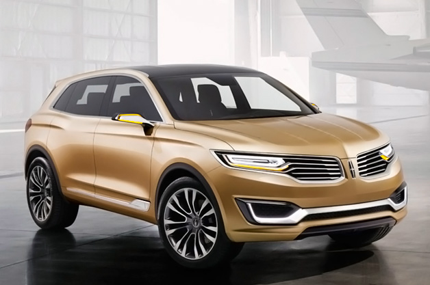 Lincoln MKX concept - front three-quarter view