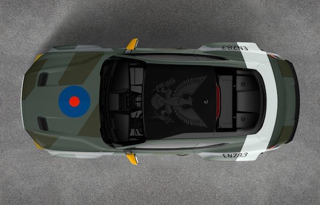 フォードとヴァン・ギッティンJr.が、イーグル飛行中隊を称えた「イーグル スコードロン マスタング GT」を製作