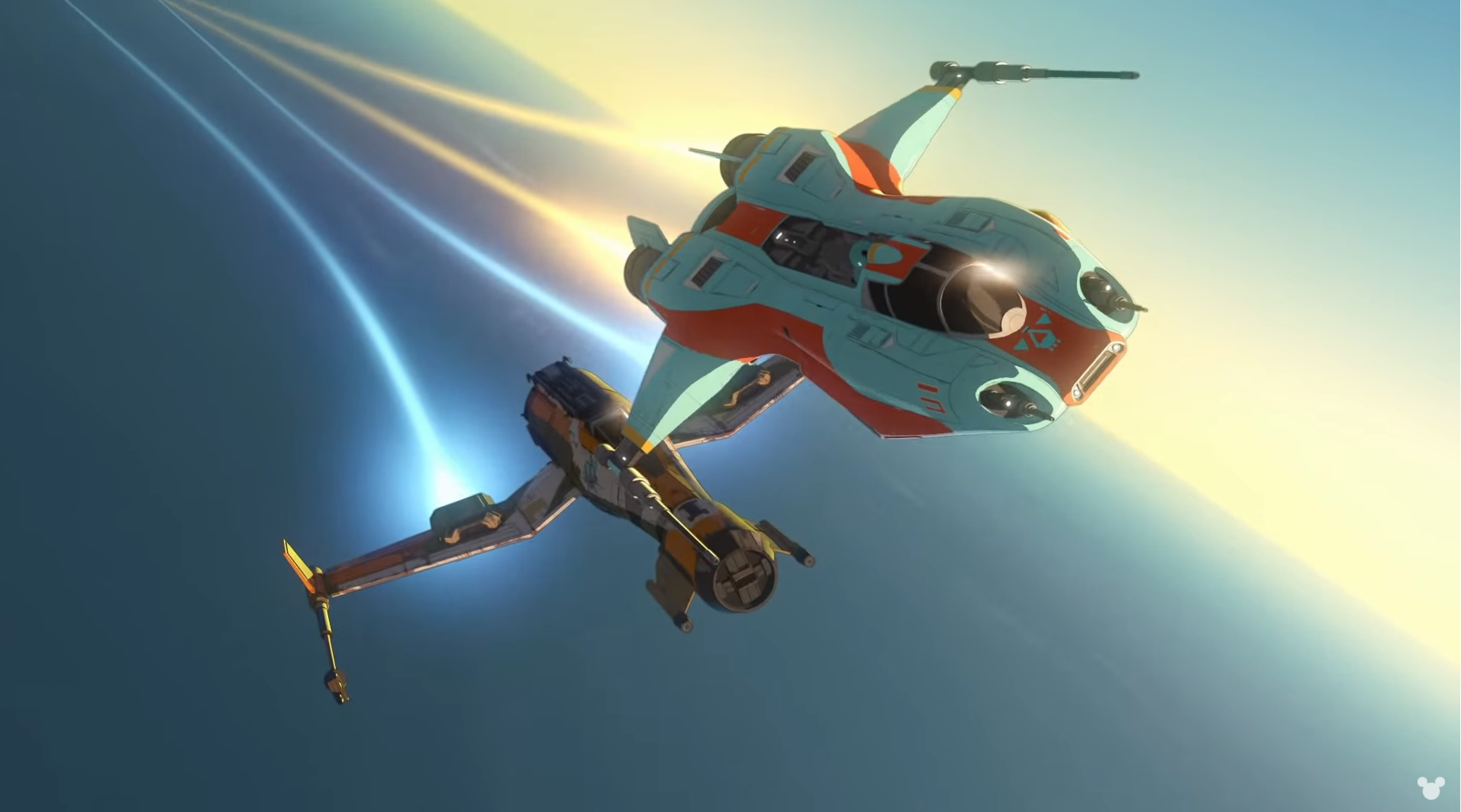'Star Wars Resistance' trailer shows off its anime style