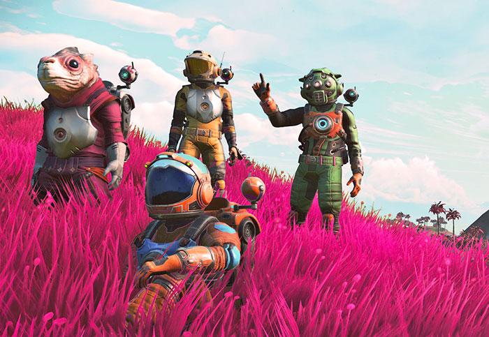 'No Man's Sky Next' trailer previews upcoming multiplayer mode
