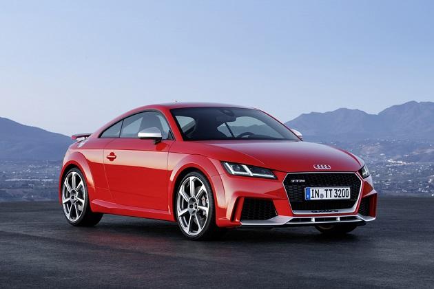 アウディ新型「TT RS」、最高出力400hpにアップして登場!