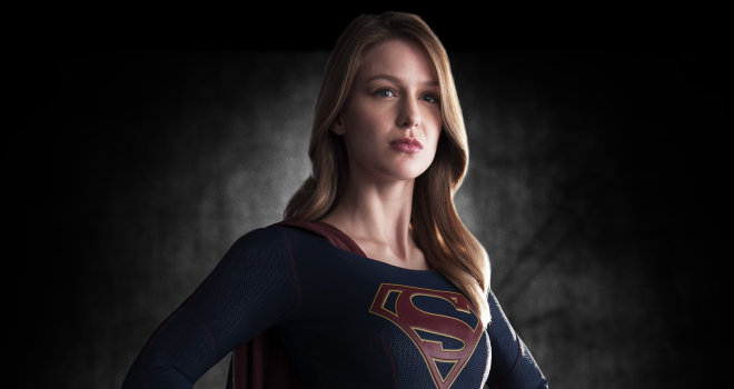"Melissa Benoist as Kara in CBS's ""Supergirl"""