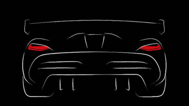 ケーニグセグが、「アゲーラ RS」後継モデルのスケッチを公開! 「ハイブリッドには頼らず、さらに高性能に」