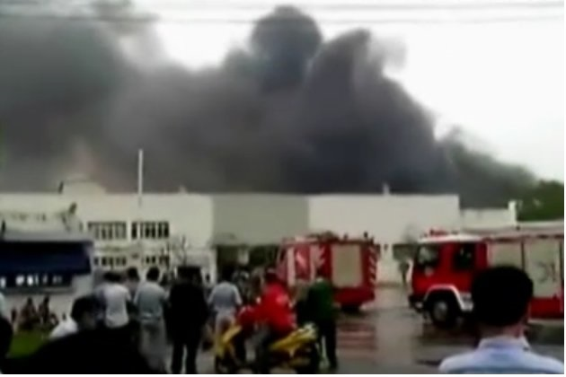【ビデオ】国内では今年最悪の事故 上海近郊の自動車部品工場で大規模爆発