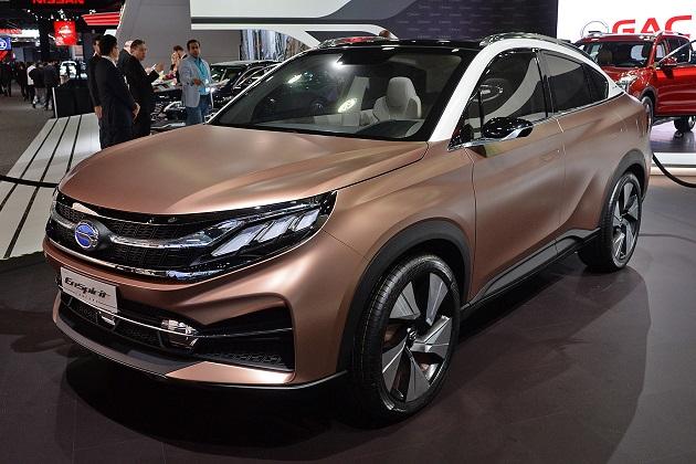 【北米国際オートショー2017】中国企業のGAC、米国市場向けに3台の新型車を発表