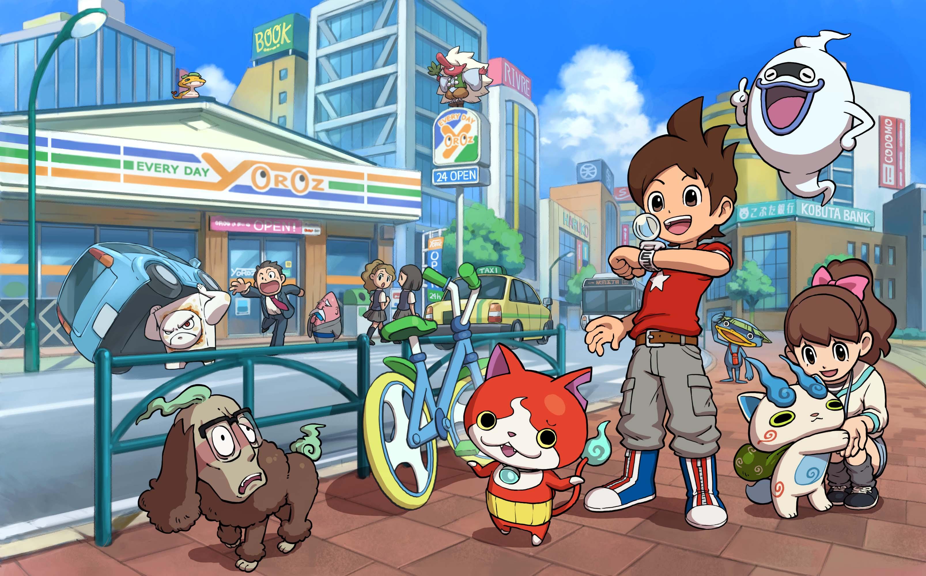 Nintendo 39 s 39 yo kai watch 39 is a love letter to urban life for Decoration yo kai watch