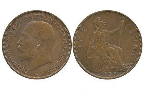 The rare 1933 penny