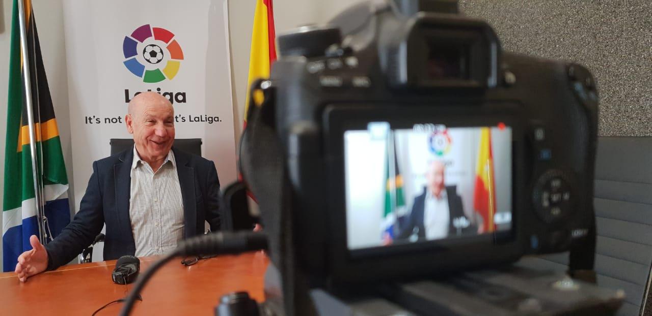 La Liga's Africa director, Antonio Barradas, talks to HuffPost in