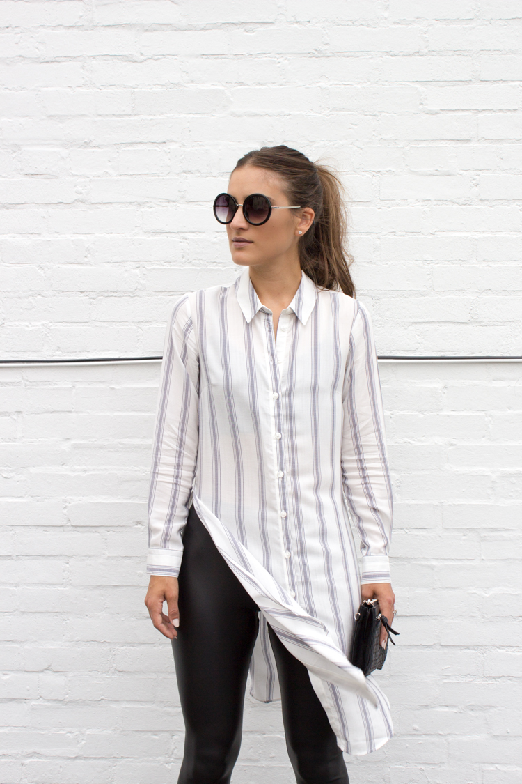 3d5ad85cad9 Tips for styling a maxi shirt - AOL Lifestyle