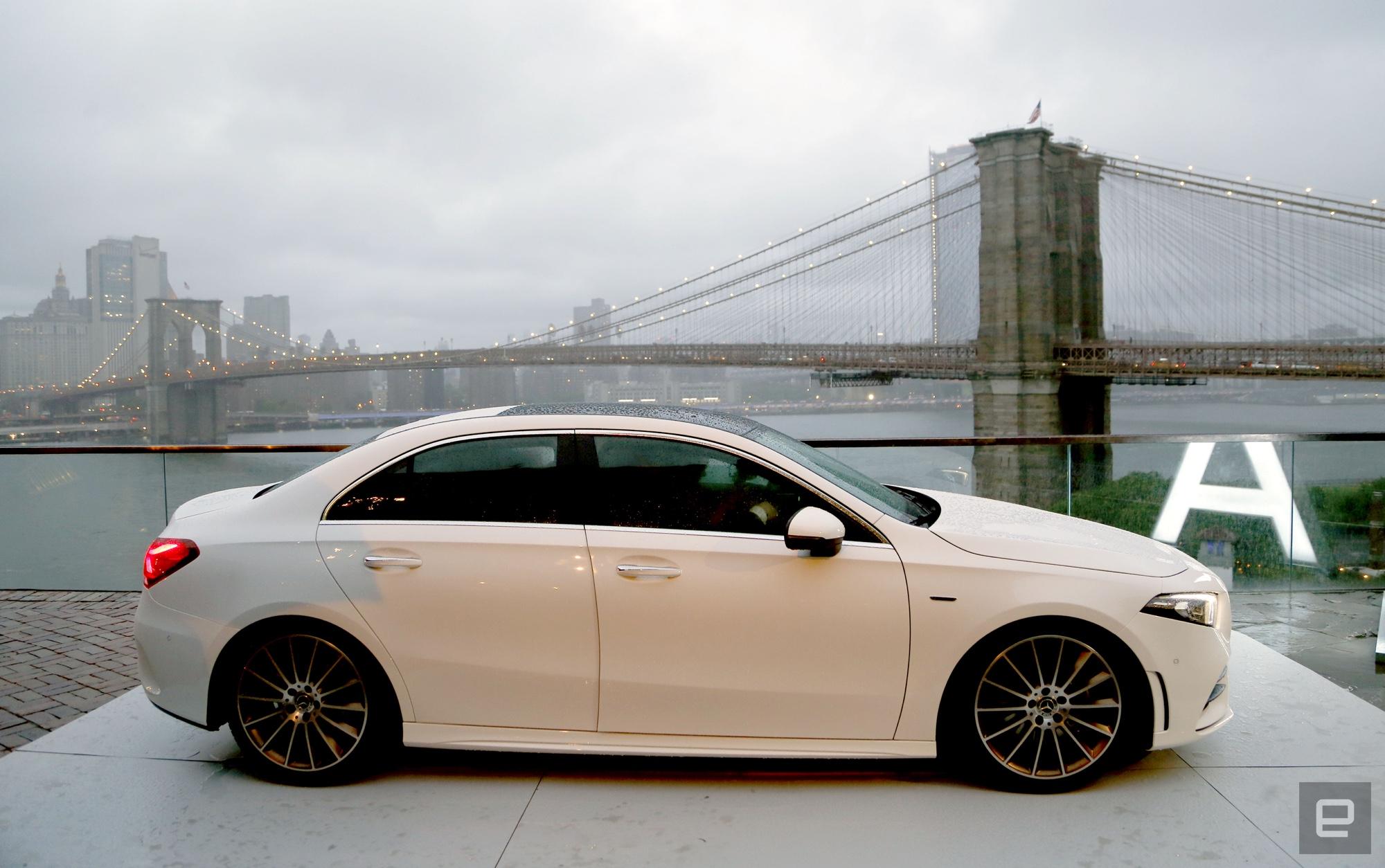 Mercedes\' new, affordable A-Class sedan is as smart as it is sleek