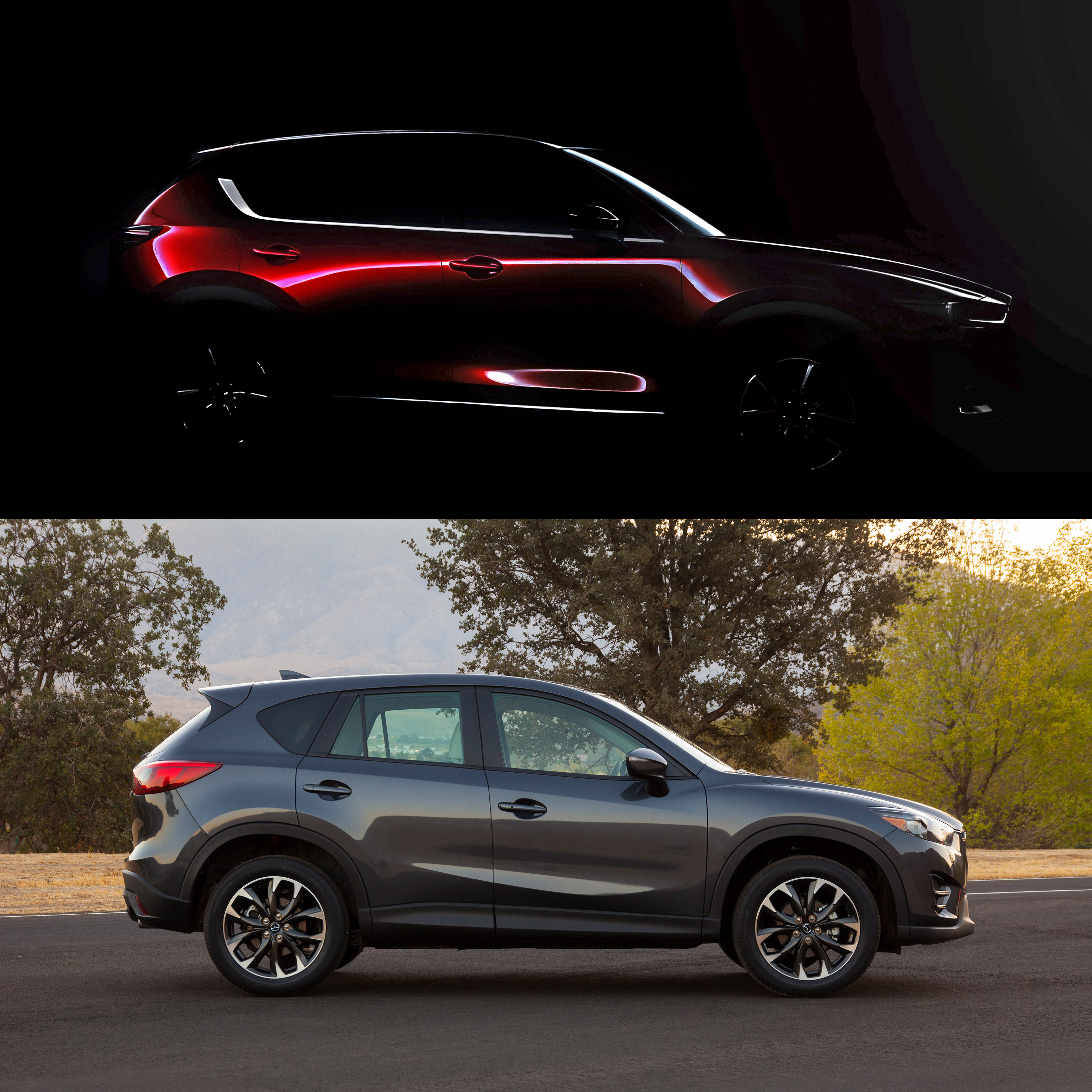 Mazda CX Teased Ahead Of LA Reveal Autoblog - Mazda la