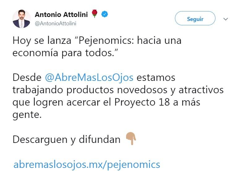 Lanzan 'Pejenomics', un manual para explicar las propuestas económicas de