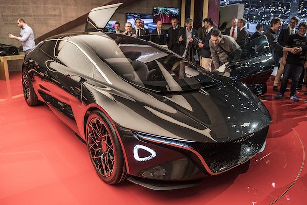 【ジュネーブモーターショー2018】アストンマーティン、ゼロエミッション高級車「ラゴンダ ビジョン コンセプト」を発表
