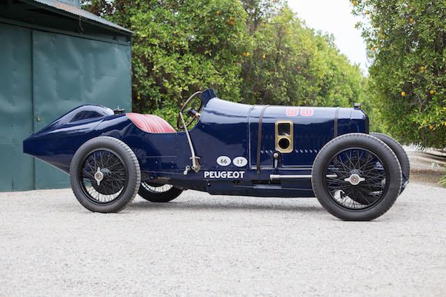 Vintage Peugeot race car breaks records at auction - AOL