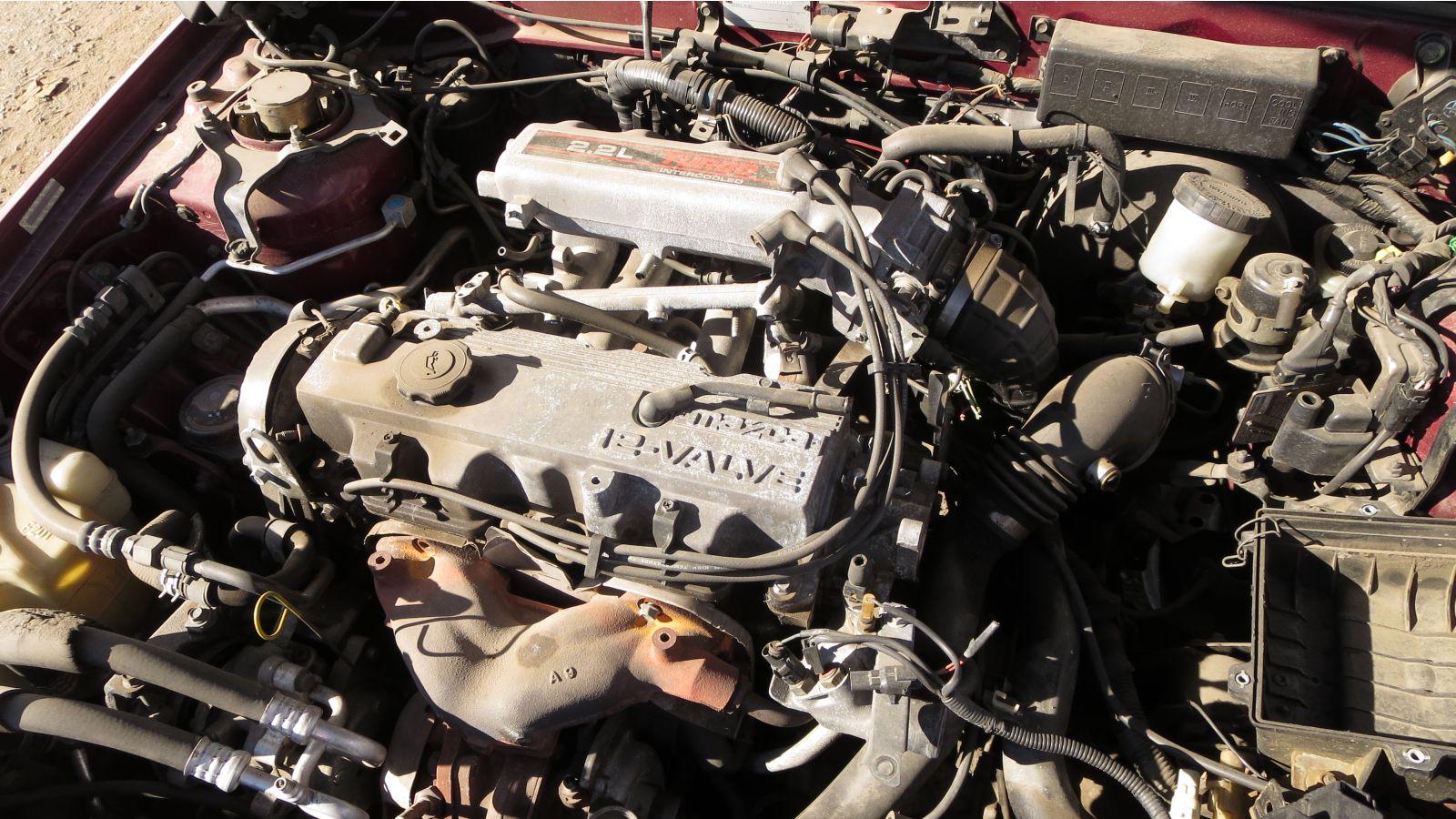 Junkyard Gem: 1989 Mazda MX-6 GT Turbo - Autoblog