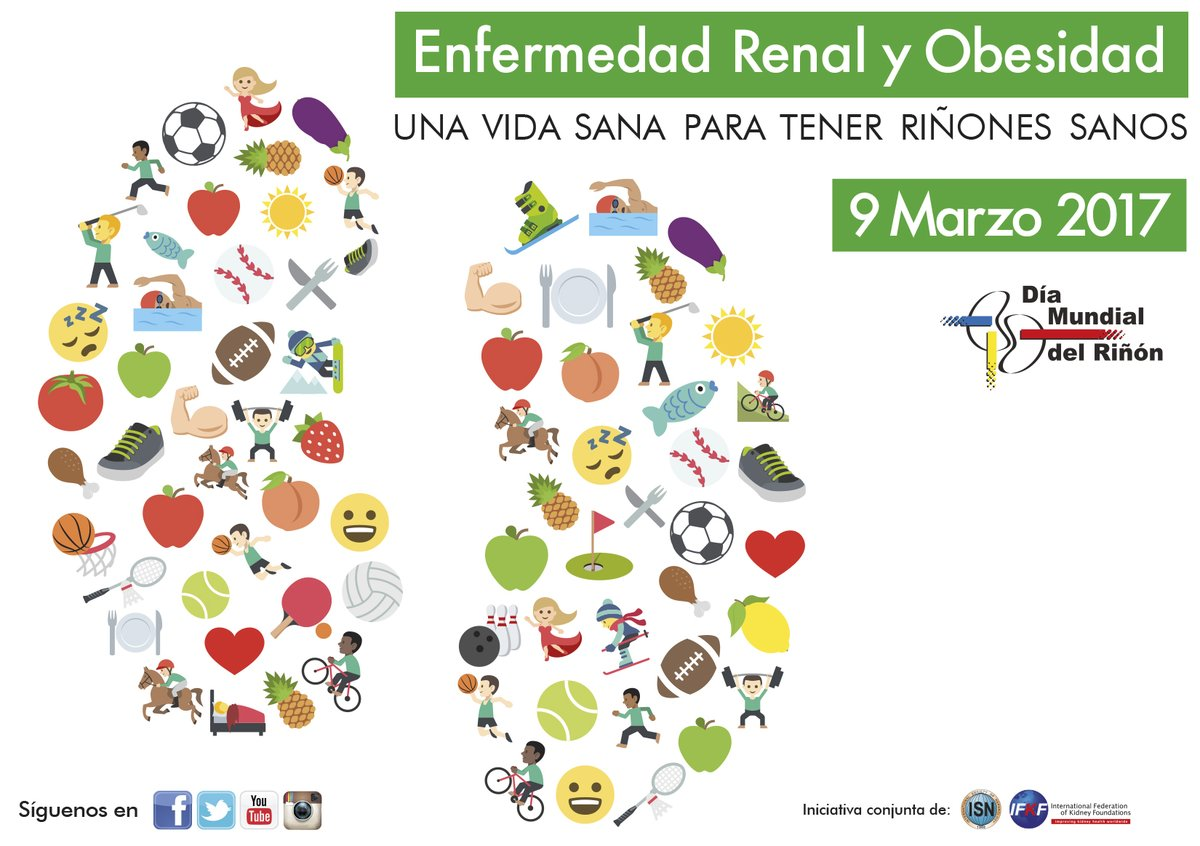 Hablemos de tus riñones: la obesidad los pone en peligro