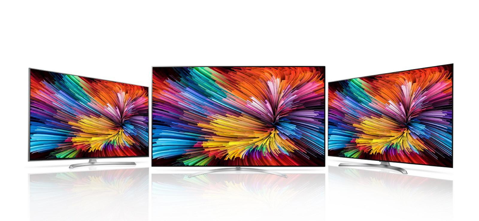 lg 39 s latest 4k tvs deliver better color through 39 nano cells 39. Black Bedroom Furniture Sets. Home Design Ideas