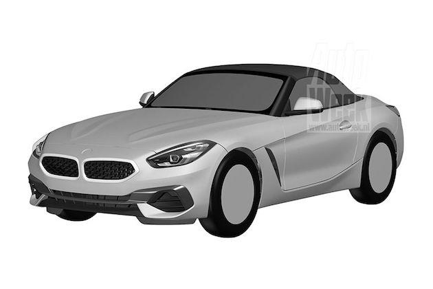 新型BMW「Z4」市販モデルの意匠登録画像が流出!