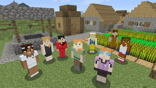 《Minecraft》终于正式推出免费的女性角色了