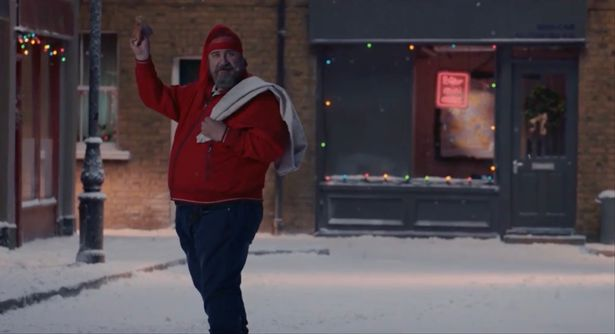 Does the M&S Christmas advert include Santa swearing?