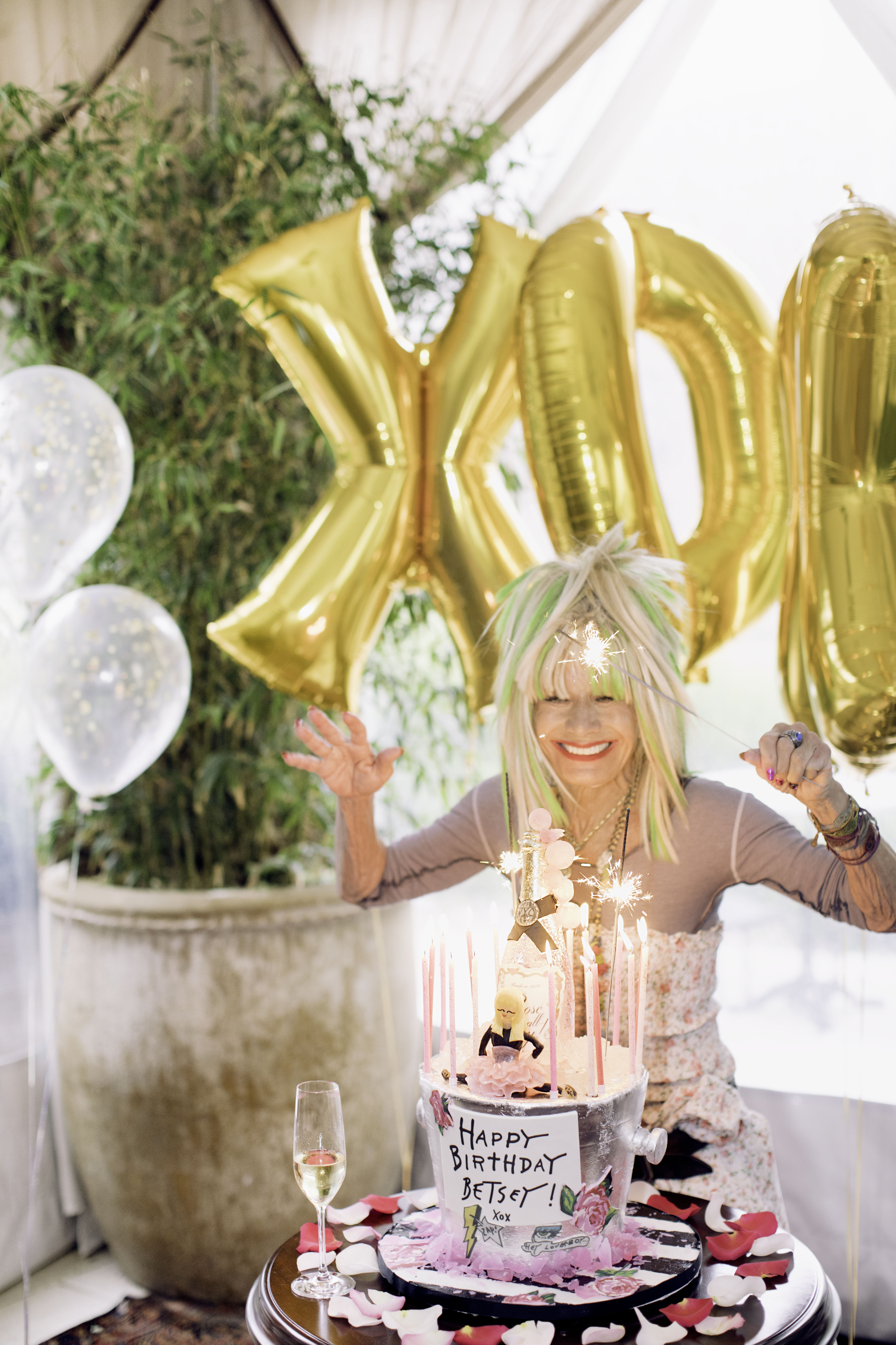 Betsey Johnson rings in 75: See the fearless designer through the ...