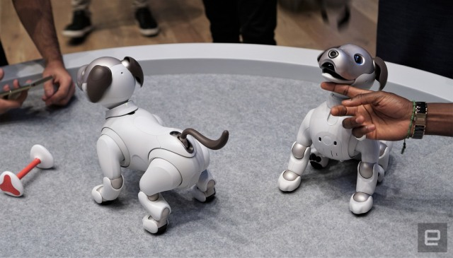 The Morning After: Robot dogs and Audi's electric supercar