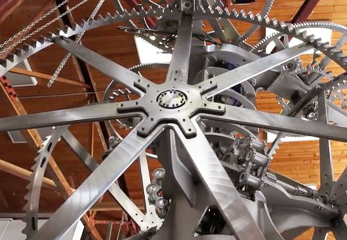 Installation begins on Bezos-backed 10,000 year clock