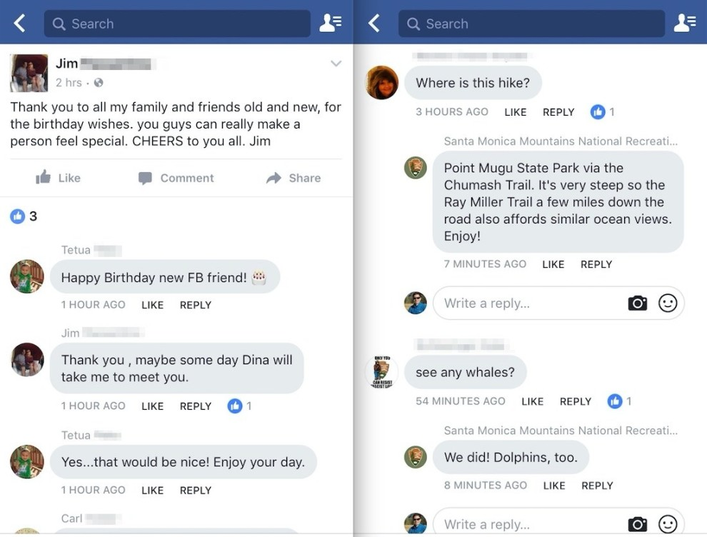 Facebook is testing a 'Messenger' style comments section