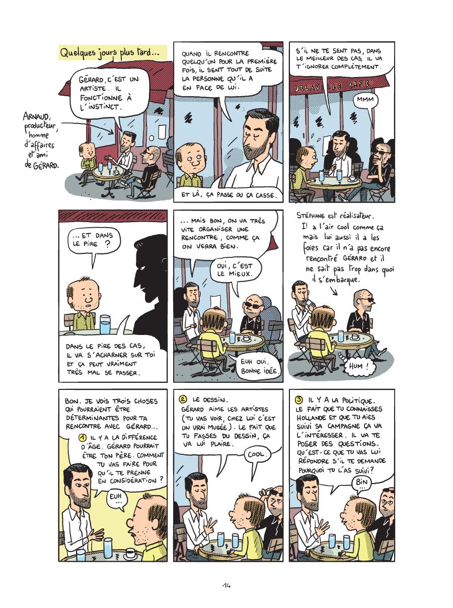 bande dessinee depardieu