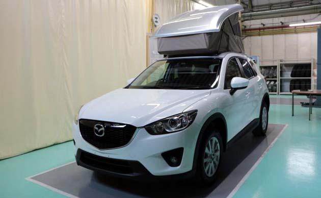 マツダ「CX-5」にポップアップルーフ搭載モデルが登場!? SUVベースのキャンピングカーの中身とは!?