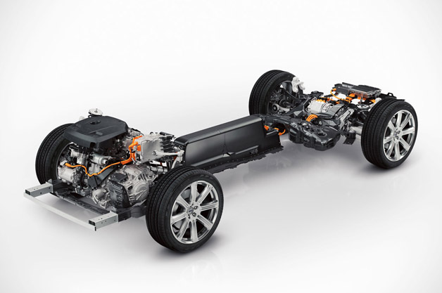 Second-generation Volvo XC90 PHEV Chassis