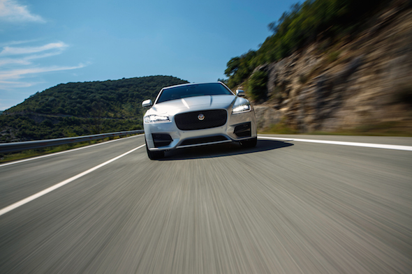 AOL Cars tests the new Jaguar XF in Spain
