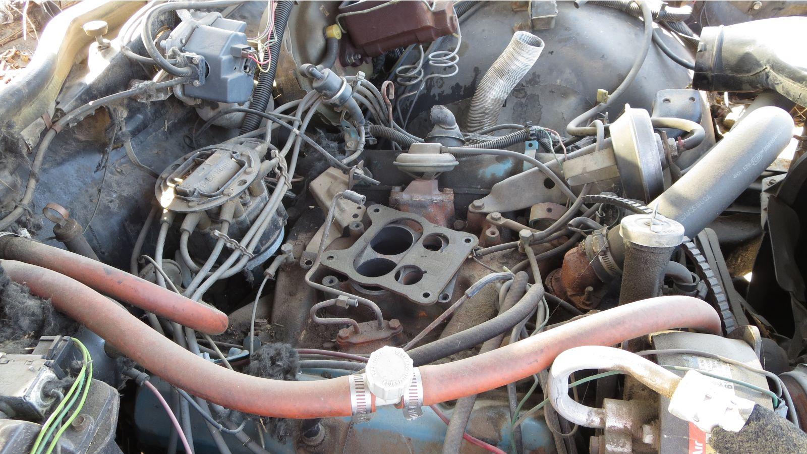 1979 Buick LeSabre Oldsmobile 350 engine