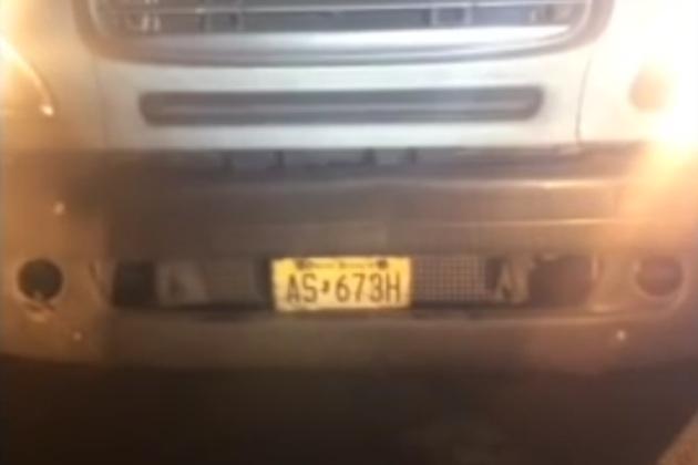 【ビデオ】通行料金を免れるためにトラック運転手が車両に施したケチくさい細工とは?