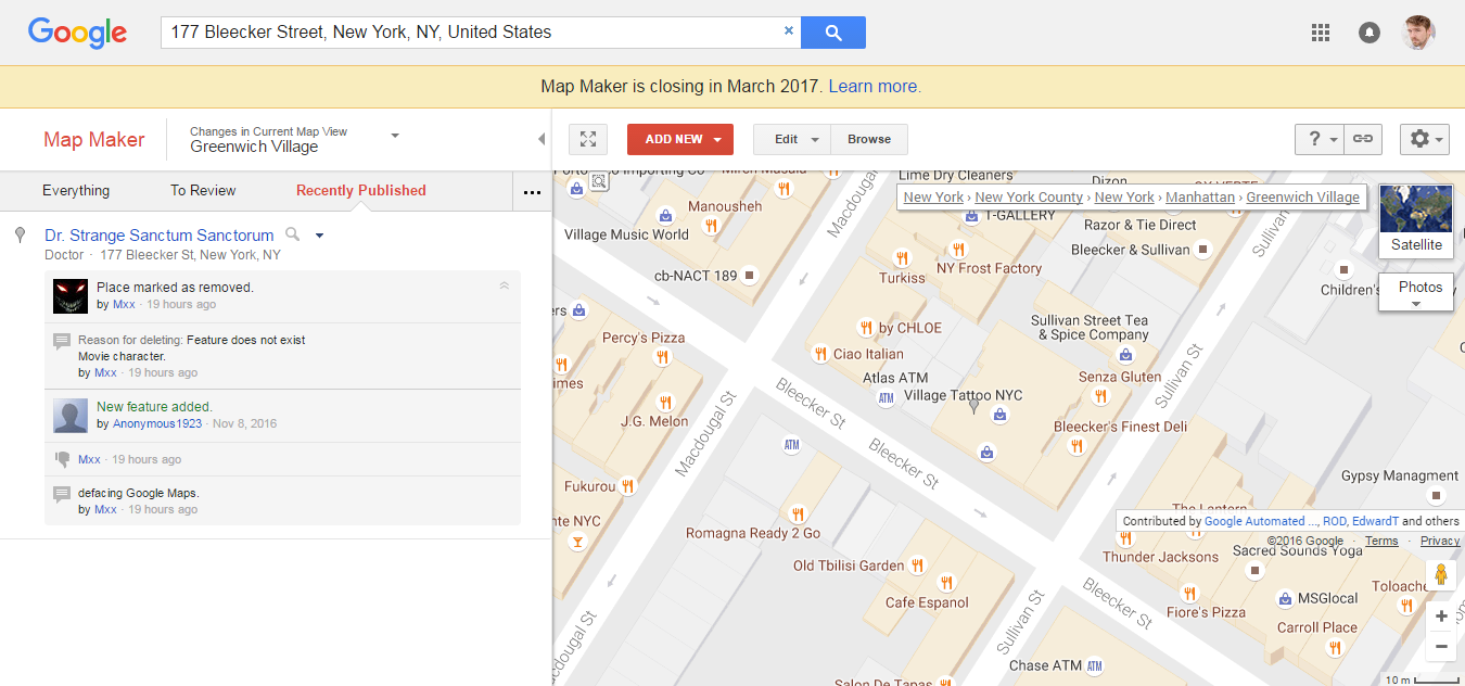 Google 地圖製作工具即將退休,功能會被 Maps 繼承