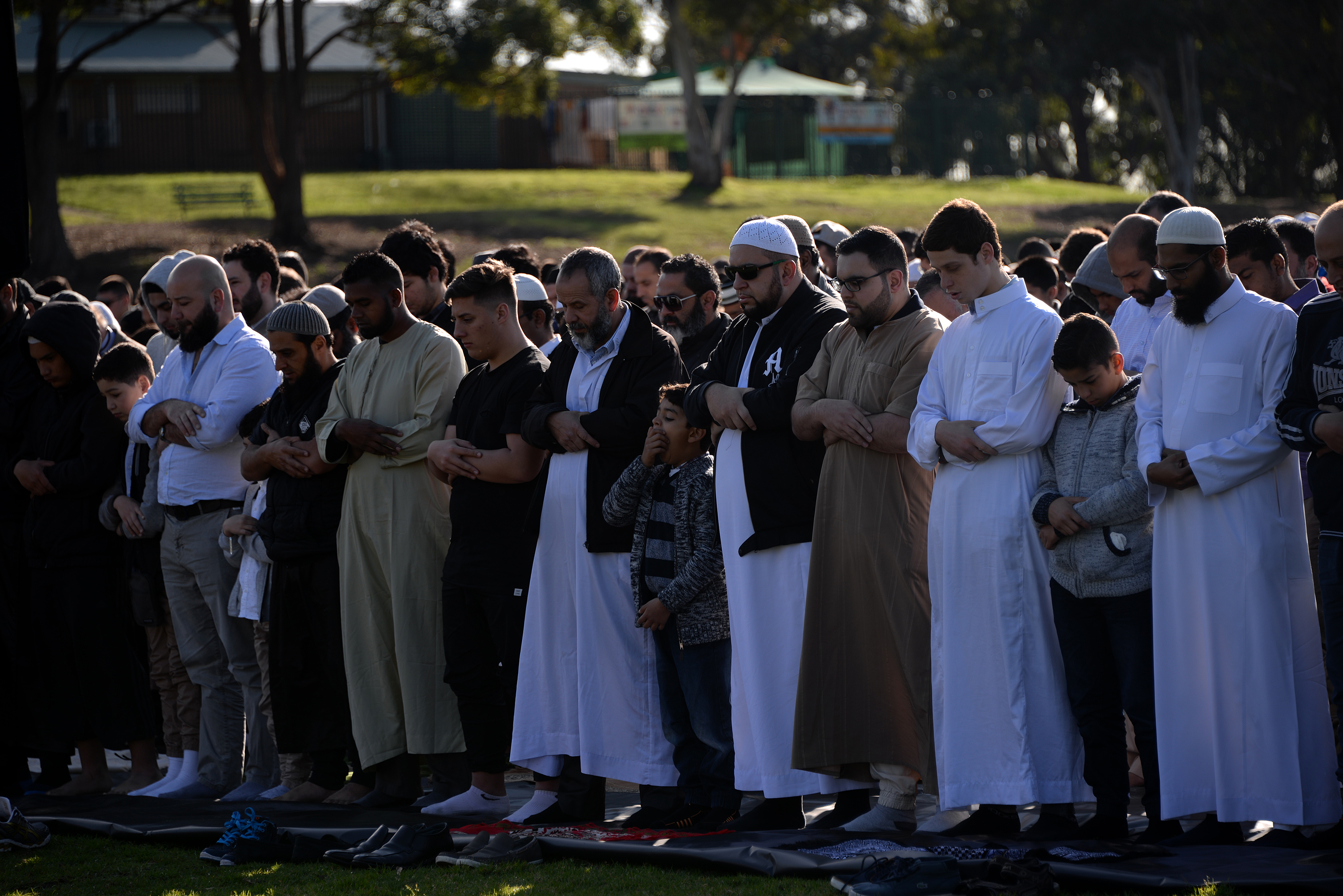 Captivating Images As Muslims Pray To Celebrate Eid