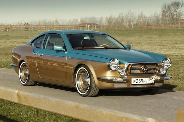 ロシアのコーチビルダーが、BMW「3シリーズ」をベースにレトロなクーペを製作!