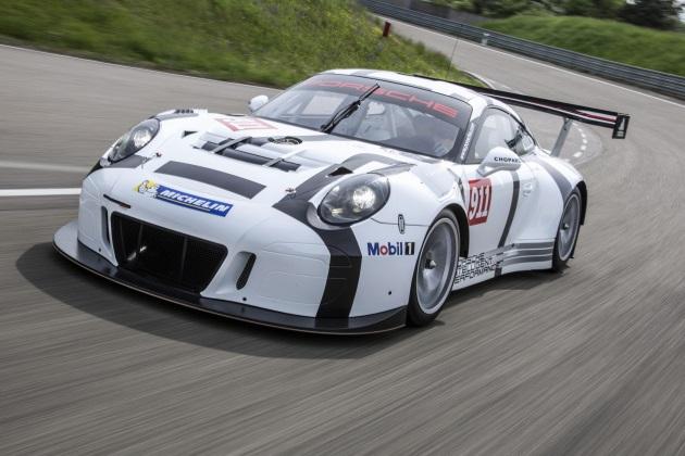 ポルシェが新型「911 GT3 R」をニュルブルクリンクで初公開