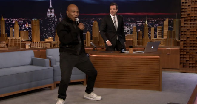 the tonight show starring jimmy fallon mike tyson hotline bling