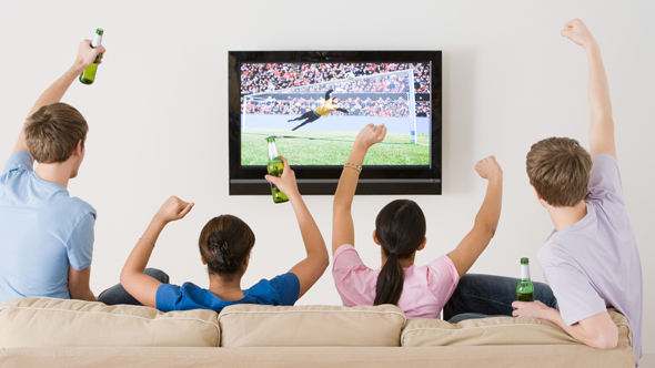 Brits opt for staycation to watch World Cup