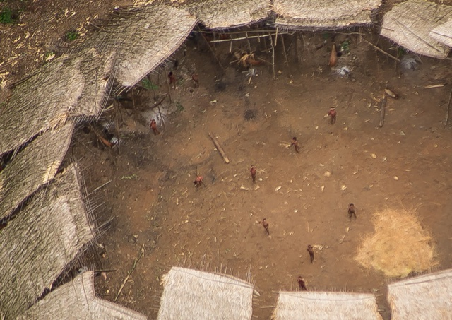 Incredible new photos of uncontacted Amazon tribe emerge