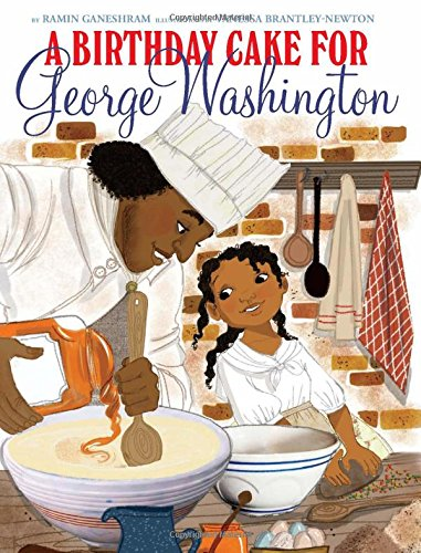 'A Birthday Cake for George Washington' has been strongly criticized for its upbeat images and story of Washington's cook.