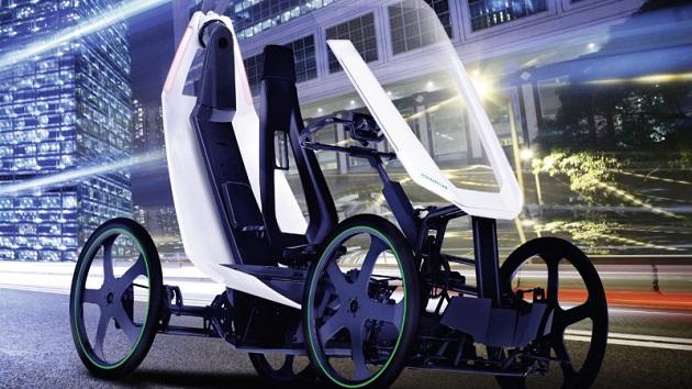 シェフラー、4輪の電動アシスト自転車コンセプト「バイオハイブリッド」を発表