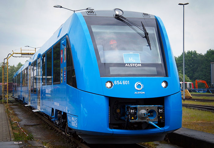 The hydrogen train of the future is a lot like the train of today