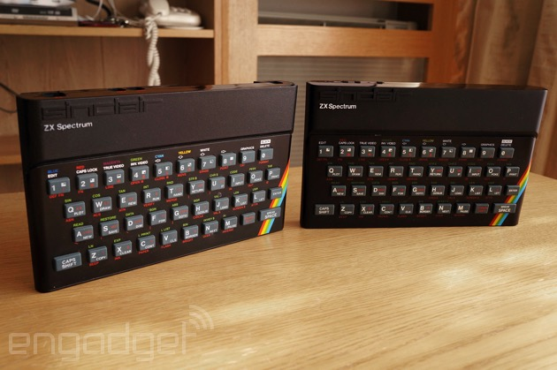 Recreated Sinclair ZX Spectrum