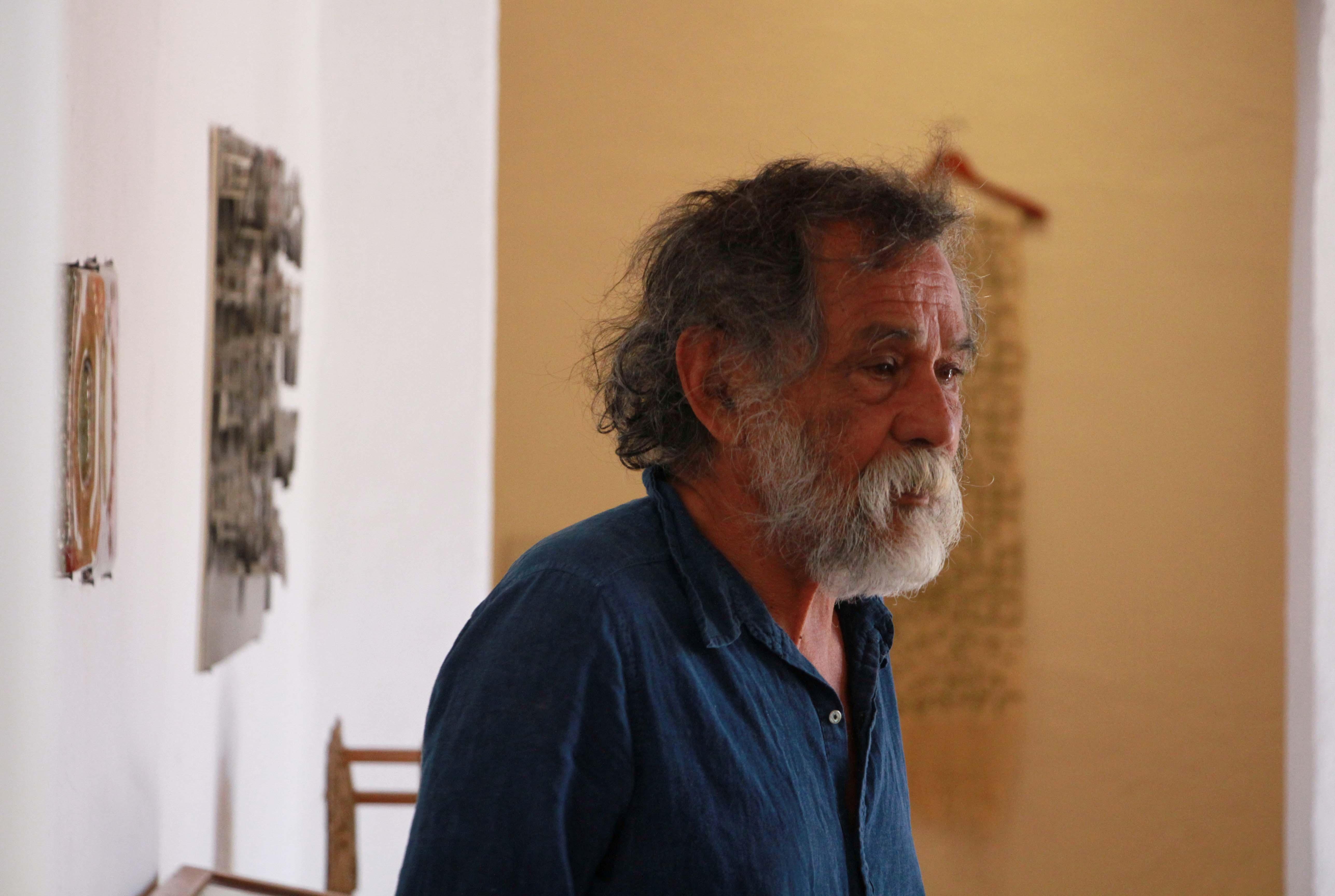 El artista mexicano Francisco Toledo en Oaxaca el 15 de febrero de