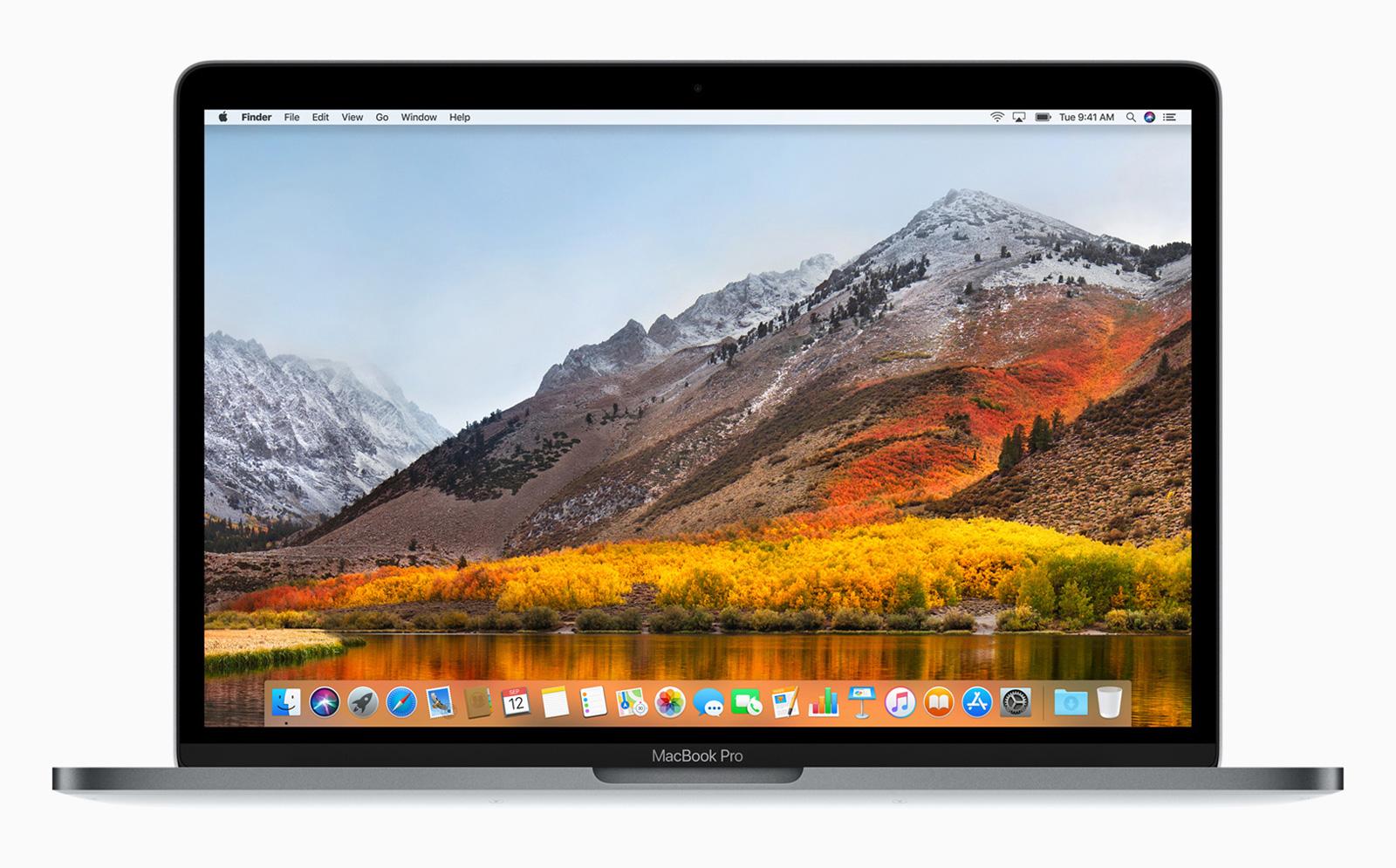 アップル、macOS High Sierraの...