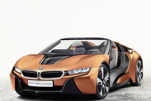 BMW内部関係者、「i8 スパイダーの市販化は来年以降」と明かす